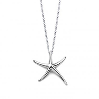 Edmon Starfish 925 Sterling Silver Plated Necklace - $20 with FREE Shipping!