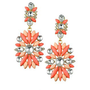 Rhinestone Dangle Earrings- $11 with Free Shipping